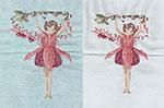 Fuchsia Flower Fairy