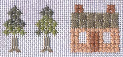 12 Houses Sampler, particolare