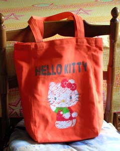 Borsa portalavoro di Hello Kitty