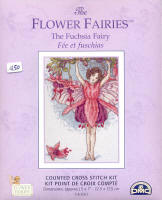 Fuchsia Flower Fairy #1